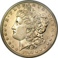 Morgan Dollars, 1893-S $1 MS60 PCGS....