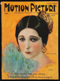 "Motion Picture Magazine (Brewster Publications, Inc., May 1924). Magazine (124 Pages, 8.5"" X 11.5""). Miscellan..."
