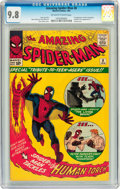 Silver Age (1956-1969):Superhero, The Amazing Spider-Man #8 (Marvel, 1964) CGC NM/MT 9.8 Off-white towhite pages....