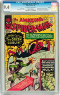 Silver Age (1956-1969):Superhero, The Amazing Spider-Man #14 Circle 8 pedigree (Marvel, 1964) CGC NM9.4 Off-white to white pages....
