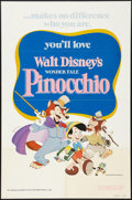 """Movie Posters:Animation, Pinocchio (Buena Vista, R-1978). One Sheet (27"""" X 41"""") & LobbyCard Set of 9 (11"""" X 14""""). Animation.. ... (Total: 10 Items)"""