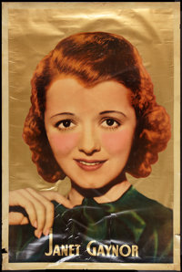"Janet Gaynor (Fox, 1935). Personality Poster (40"" X 60""). Miscellaneous"
