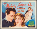 """Movie Posters:Musical, The Melody Lingers On & Other Lot (United Artists, 1935). Half Sheets (2) (22"""" X 28""""). Musical.. ... (Total: 2 Items)"""