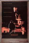 """Movie Posters:Western, Unforgiven (Warner Brothers, 1992). Bus Shelter (48"""" X 70""""). DS Advance. Western.. ..."""