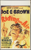 """Movie Posters:Comedy, Riding on Air (RKO, 1937). Canadian One Sheet (26"""" X 42""""). Comedy.. ..."""