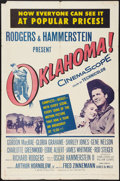 """Movie Posters:Musical, Oklahoma! & Others Lot (RKO, 1955). One Sheets (2) (27"""" X 41"""")& Lobby Cards (2) (11"""" X 14""""). Musical.. ... (Total: 4 Items)"""