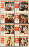 "Movie Posters:War, The Proud and Profane (Paramount, 1956). Lobby Card Set of 8 (11"" X14""). War.. ... (Total: 8 Items)"