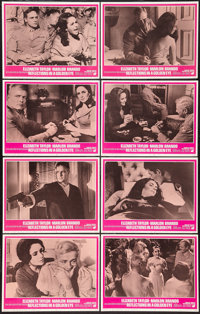 "Reflections in a Golden Eye (Warner Brothers, 1967). Lobby Card Set of 8 (11"" X 14""). Drama. ... (Total: 8 Ite..."