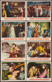 """Green Dolphin Street and Other Lot (MGM, R-1955). Lobby Card Sets of 8 (2) (11"""" X 14""""). Adventure. ... (Total:..."""