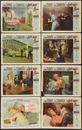 """Movie Posters:Drama, The Lady Takes a Flyer and Other Lot (Universal International, 1958). Lobby Card Sets of 8 (2) (11"""" X 14""""). Drama.. ... (Total: 16 Items)"""
