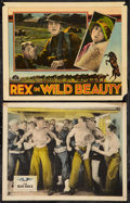 "Movie Posters:Action, The Blue Eagle and Other Lot (Fox, 1926). Lobby Cards (2) (11"" X 14""). Action.. ... (Total: 2 Items)"