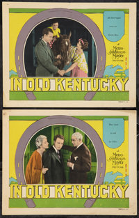 "In Old Kentucky (MGM, 1927). Lobby Cards (2) (11"" X 14""). Drama. ... (Total: 2 Items)"