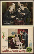"""Movie Posters:Comedy, Ladies Must Dress and Other Lot (Fox, 1927). Lobby Cards (2) (11"""" X 14""""). Comedy.. ... (Total: 2 Items)"""