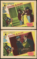 "Movie Posters:Action, Riders of the Dark (MGM, 1928). Lobby Cards (2) (11"" X 14"").Action.. ... (Total: 2 Items)"