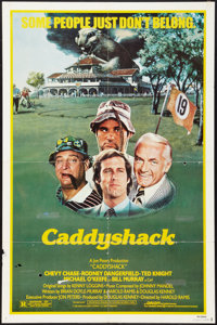 "Caddyshack (Orion, 1980). One Sheet (27"" X 41""). Comedy"