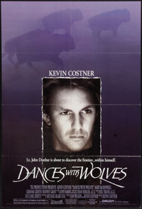 "Dances with Wolves (Orion, 1990). One Sheet (27"" X 40""). Western"