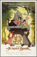 "Movie Posters:Animation, The Jungle Book & Other Lot (Buena Vista, R-1984). One Sheets (2) (27"" X 41""). Animation.. ... (Total: 2 Items)"
