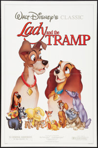 """Lady and the Tramp and Other Lot (Buena Vista, R-1986). One Sheets (2) (27"""" X 41""""). Animation. ... (Total: 2 I..."""