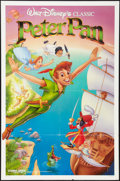 "Movie Posters:Animation, Peter Pan & Other Lot (Buena Vista, R-1989). One Sheets (2)(27"" X 41""). Animation.. ... (Total: 2 Items)"