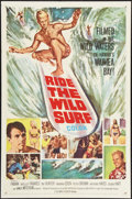 "Movie Posters:Sports, Ride the Wild Surf (Columbia, 1964). One Sheet (27"" X 41"").Sports.. ..."