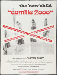 "Camille 2000 & Others Lot (Audubon, 1969). One Sheets (3) (27"" X 35.5"", 25"" X 38"", 27""..."