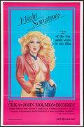 """Movie Posters:Adult, Flight Sensations and Other Lot (VCA, 1983). One Sheets (2) (27"""" X 41""""). Adult.. ... (Total: 2 Items)"""