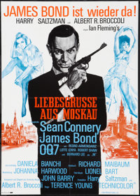 "From Russia with Love (United Artists, R-1970s). German A1 (23.5"" X 33""). James Bond"
