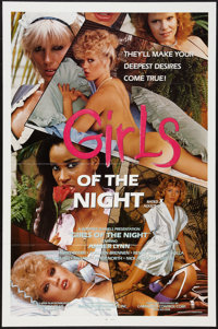 "Girls of the Night and Others Lot (Caballero Releasing, 1984). One Sheets (3) (27"" X 41"", 25"" X 37.25&quo..."