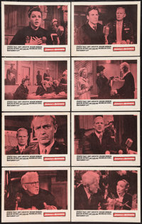 "Judgment at Nuremberg (United Artists, 1961). Lobby Card Set of 8 (11"" X 14""). Drama. ... (Total: 8 Items)"