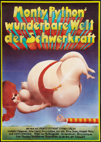 """And Now for Something Completely Different (Filmwelt, 1983). German A1 (23.25"""" X 33"""") Style A. Comedy"""