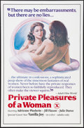 """Movie Posters:Adult, Private Pleasures of a Woman and Other Lot (Unknown, 1983). One Sheets (2) (27"""" X 41""""). Adult.. ... (Total: 2 Items)"""