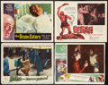 "Movie Posters:Science Fiction, Science Fiction Lot (Various, 1953-1962). Lobby Cards (4) (11"" X14"") and (11"" X 13.5""). Science Fiction.. ... (Total: 4 Items)"
