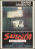 "Movie Posters:Horror, Suspiria (P.A.C., 1977). Italian 2 - Foglio (39"" X 55""). Horror....."