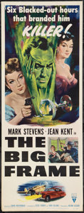 "Movie Posters:Mystery, The Big Frame (RKO, 1953). Insert (14"" X 36""). Mystery.. ..."