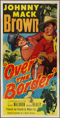 "Over the Border (Monogram, 1950). Three Sheet (41"" X 81""). Western"