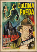"Movie Posters:Film Noir, Union Station (Gala International, R-1964). Italian 2 - Foglio (39"" X 55""). Film Noir.. ..."