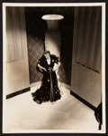 "Movie Posters:Drama, Bette Davis by Elmer Fryer (Warner Brothers, 1938). Publicity Photo(8"" X 10""). Drama.. ..."