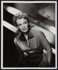 "Eve Arden in Goodbye, My Fancy (Warner Brothers, 1951). Autographed Photo (8"" X 10""). Romance"