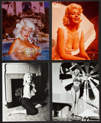 "Jayne Mansfield Lot 3 (1980s). Unpublished Restrike Portrait Photos (7) (8"" X 10""). Sexploitation. ... (Total:..."
