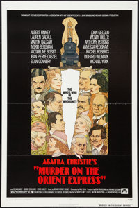 """Murder on the Orient Express (Paramount, 1974). One Sheet (27"""" X 41""""). Mystery"""