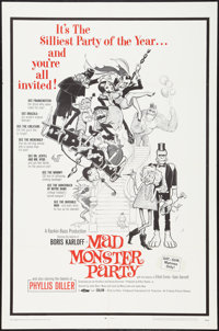 "Mad Monster Party (Embassy, 1968). One Sheet (27"" X 41""). Animated"