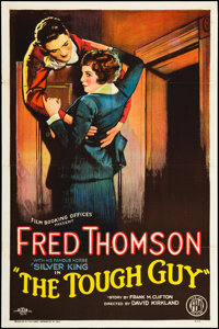 "The Tough Guy (FBO, 1926). One Sheet (27"" X 41"") Style A. Western"