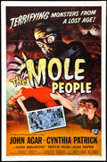 "The Mole People (Universal International, 1956). One Sheet (27"" X 41""). Science Fiction"