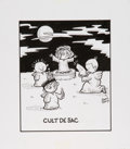 Original Comic Art:Illustrations, Mark Parisi Cult de Sac Illustration Original Art (2012)....