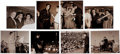 Music Memorabilia:Photos, Elvis Presley 1956 Photos Portfolio Elvis Comes Home! (TerryWood, 1987).... (Total: 8 Items)