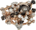 Music Memorabilia:Costumes, Elvis Presley Owned and Worn Black Star Sapphire and Diamond Ring....