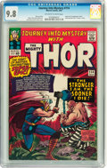 Silver Age (1956-1969):Superhero, Journey Into Mystery #114 (Marvel, 1965) CGC NM/MT 9.8 Off-white towhite pages....