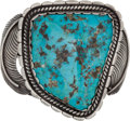 Music Memorabilia:Costumes, Elvis Presley's Turquoise and Silver Bracelet....