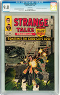 Silver Age (1956-1969):Superhero, Strange Tales #138 (Marvel, 1965) CGC NM/MT 9.8 White pages....