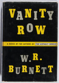 Books:Mystery & Detective Fiction, W. R. Burnett. Vanity Row. Knopf, 1952. First edition, firstprinting. Minor rubbing and wear. Very good....